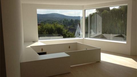 Rahmenlose Fenster stelzer alutechnik gammertingen fensterbau pfosten riegel