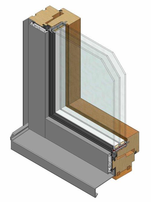 Holz Aluminiumfenster Hersteller ~ Pfosten Riegel Systeme Holz Metall